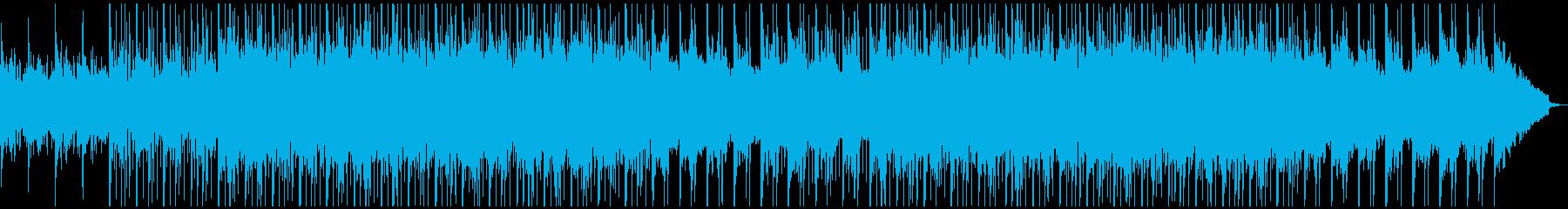 クールでスタイリッシュ_ビジネスBGMの再生済みの波形
