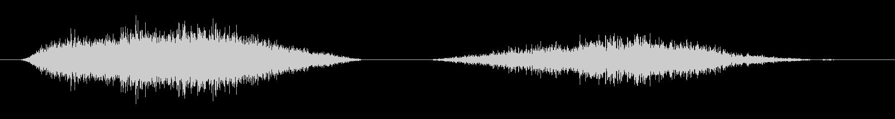 呼吸 男性の深い03の未再生の波形