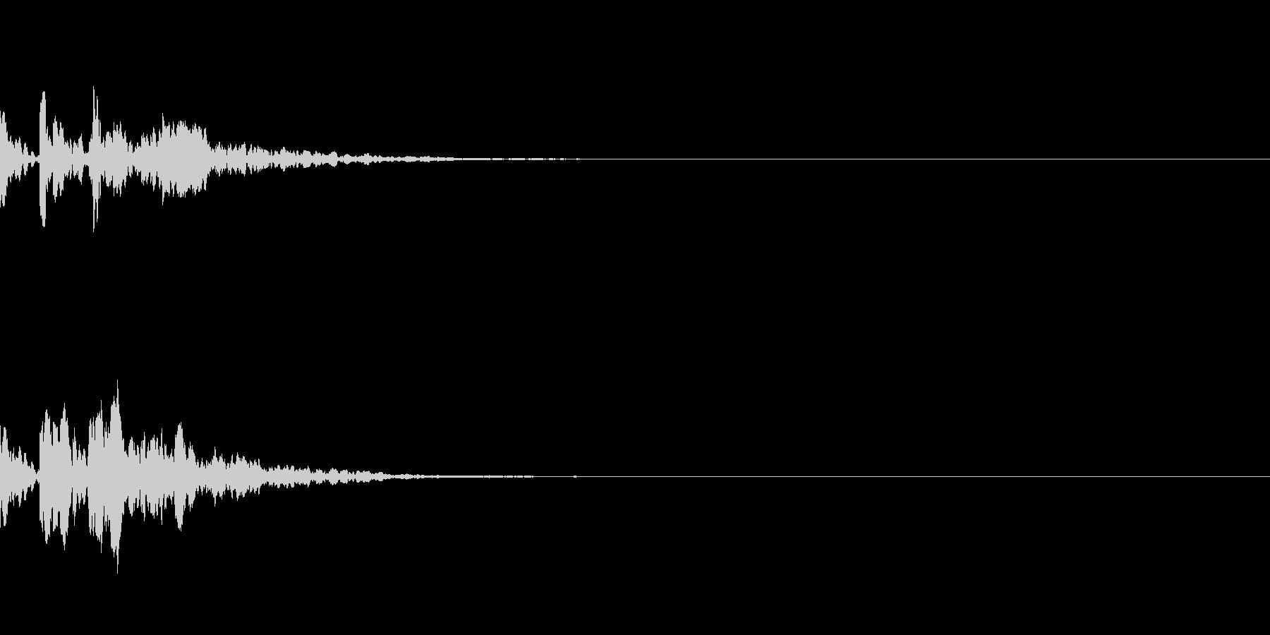 ピコーン!(起動、ひらめき)の未再生の波形