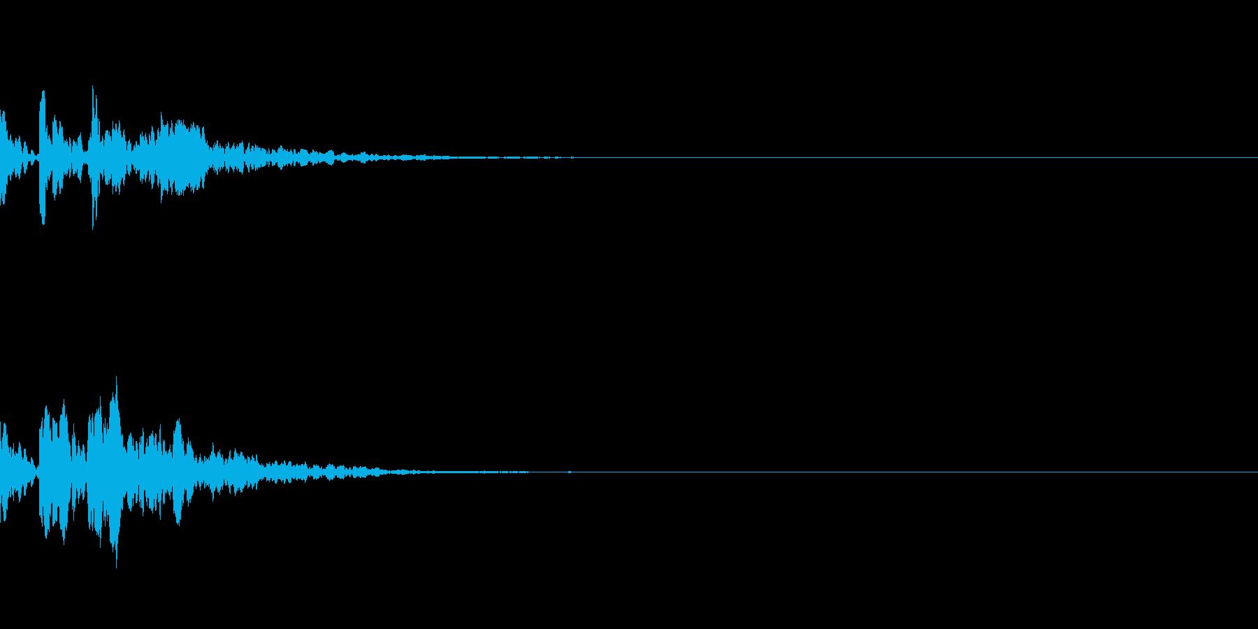 ピコーン!(起動、ひらめき)の再生済みの波形