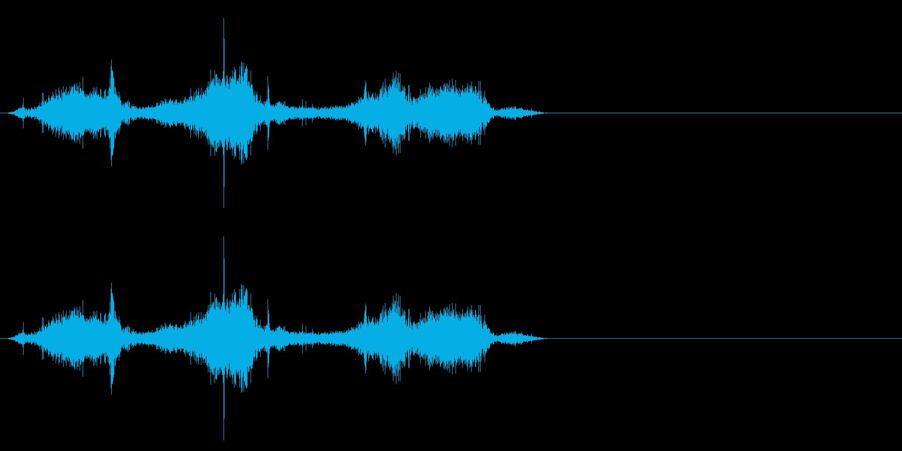 布団_布団の中でゴソゴソするの再生済みの波形