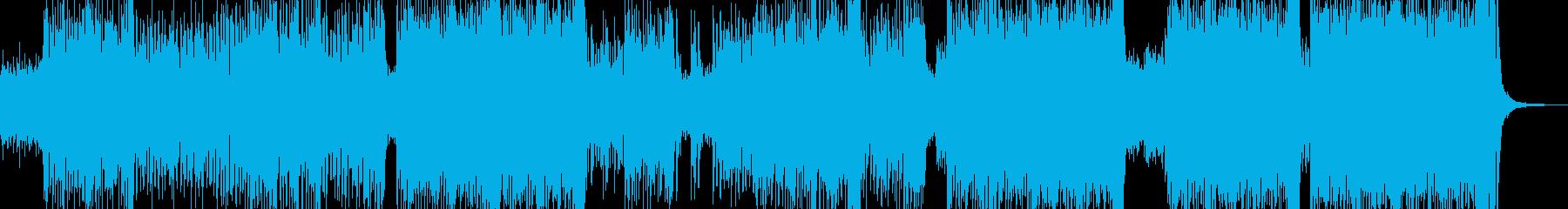 ゆめかわな雰囲気・テクノポップ 長尺+の再生済みの波形