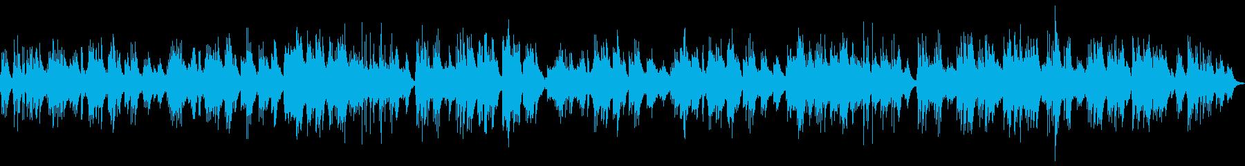 癒し系ゆったり落ち着いたピアノソロの再生済みの波形
