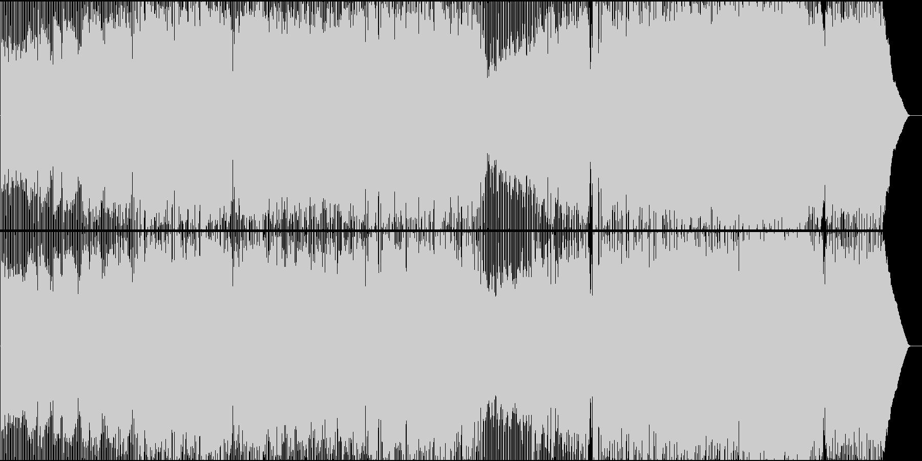 球状の未再生の波形