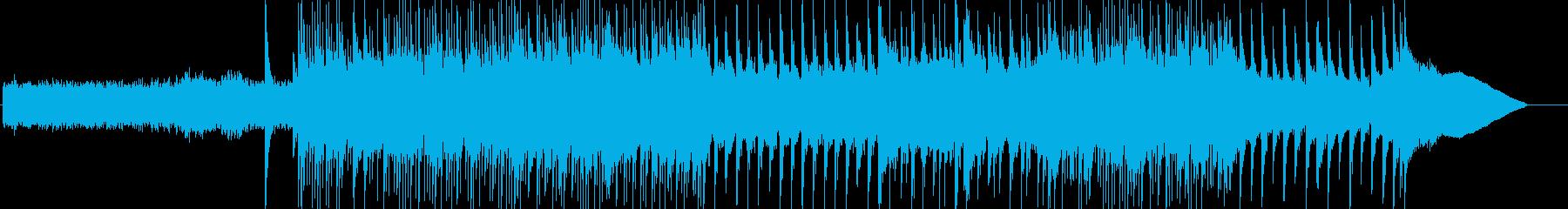 始まりを予感させてくれるようなBGMの再生済みの波形