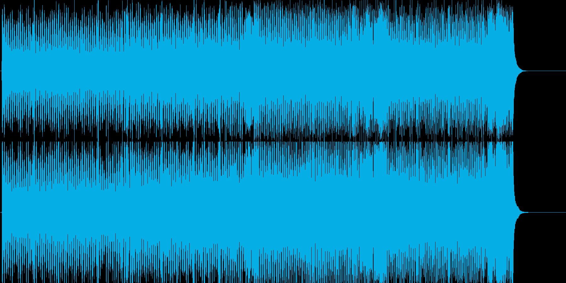 スポーツ スピード レース テーマの再生済みの波形