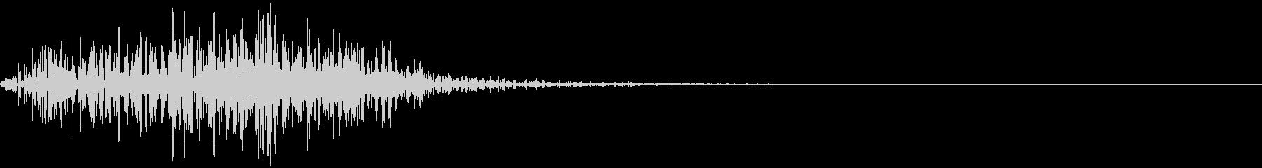 LC IMPフレーム8Bの未再生の波形