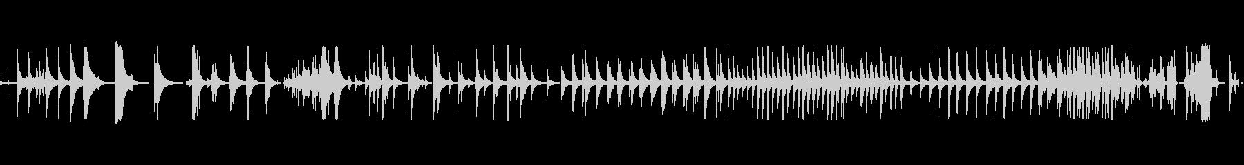 ベルテンプルリングマルチBの未再生の波形