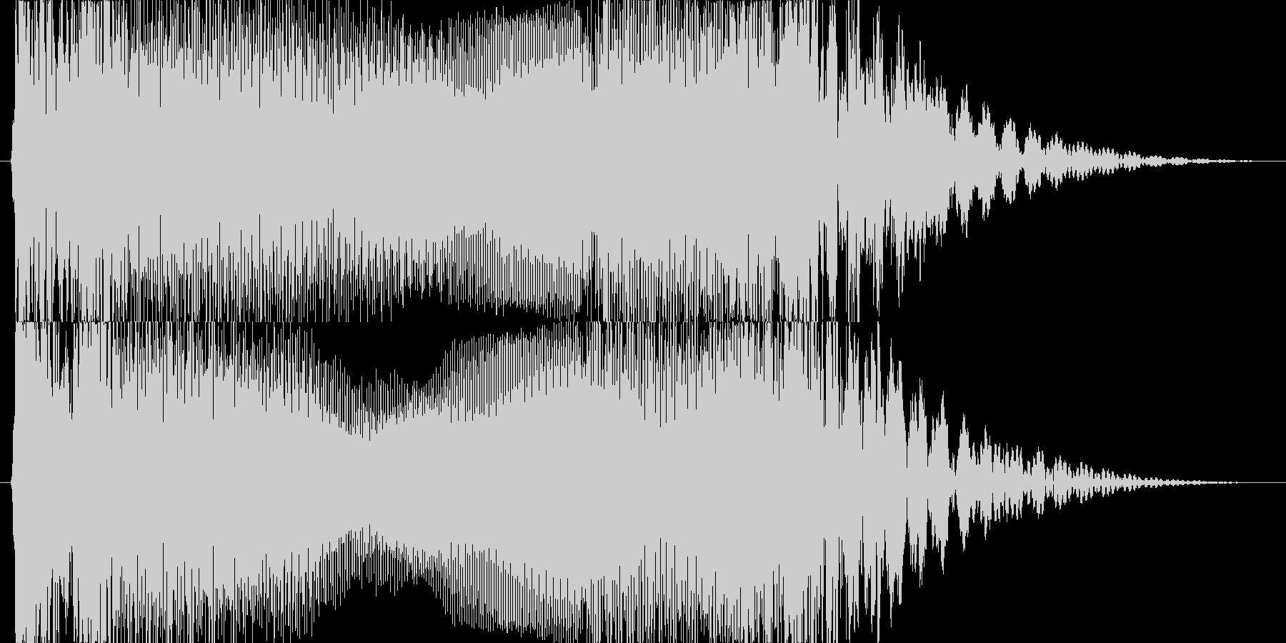 トランジション プロモーションパッド37の未再生の波形