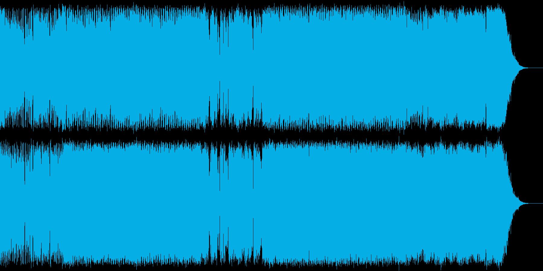 SFとかシューティングの勇猛なイメージBの再生済みの波形