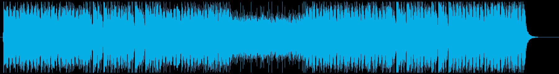 ケルト/アイリッシュ系フォークメタル1分の再生済みの波形
