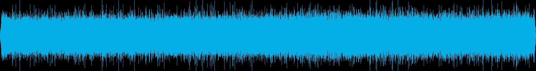 最高級のバイノーラルマイクで雨の音を!の再生済みの波形