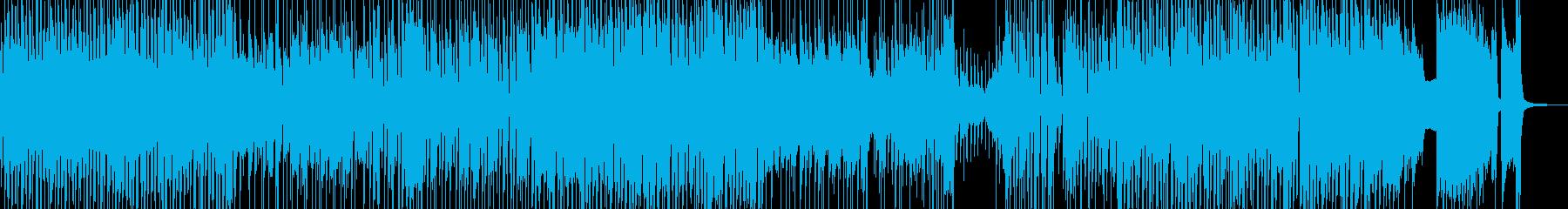 でこぼこ田舎道・弾けるジャズポップ 短尺の再生済みの波形