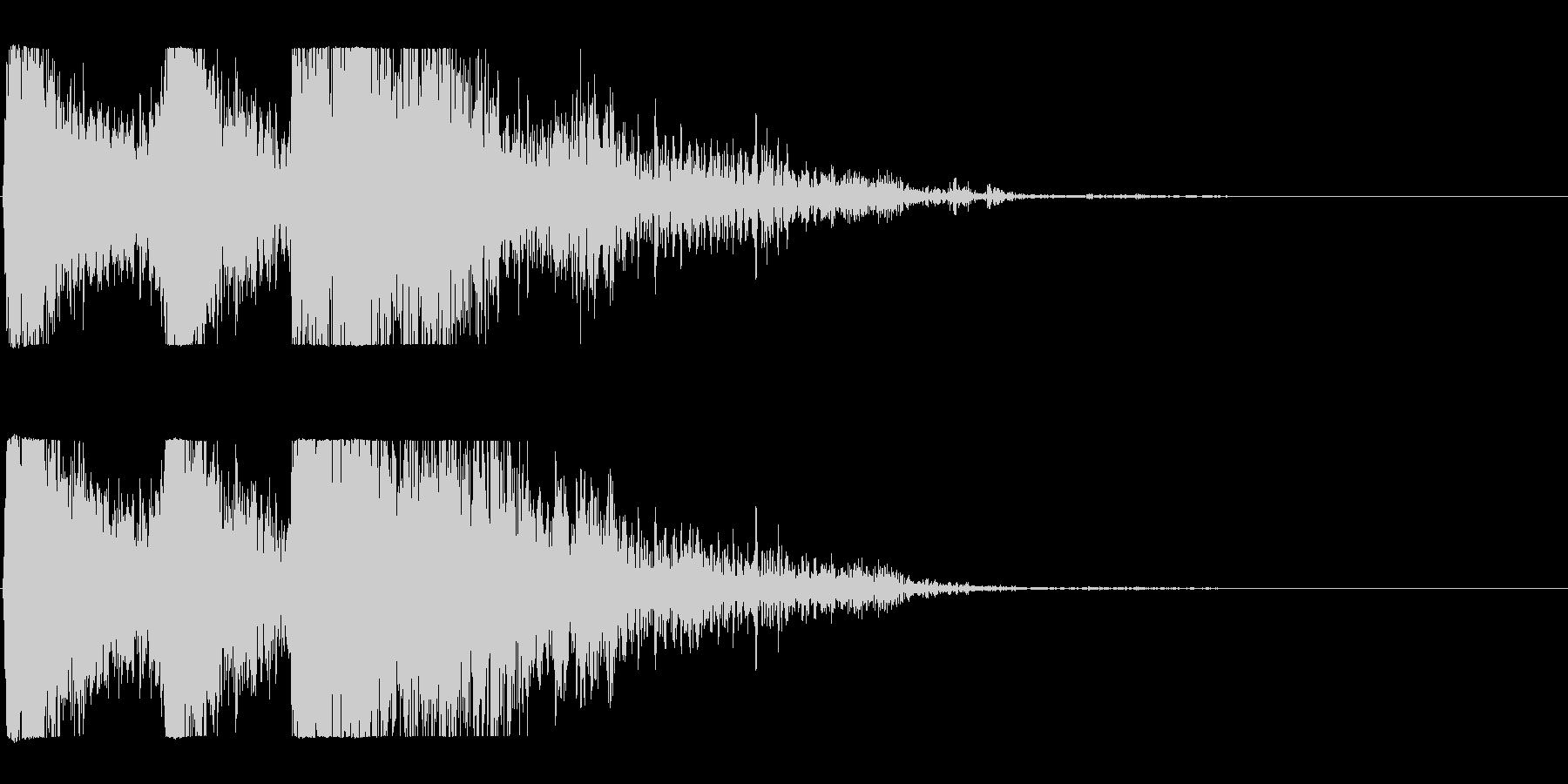 爆発;複数04の未再生の波形