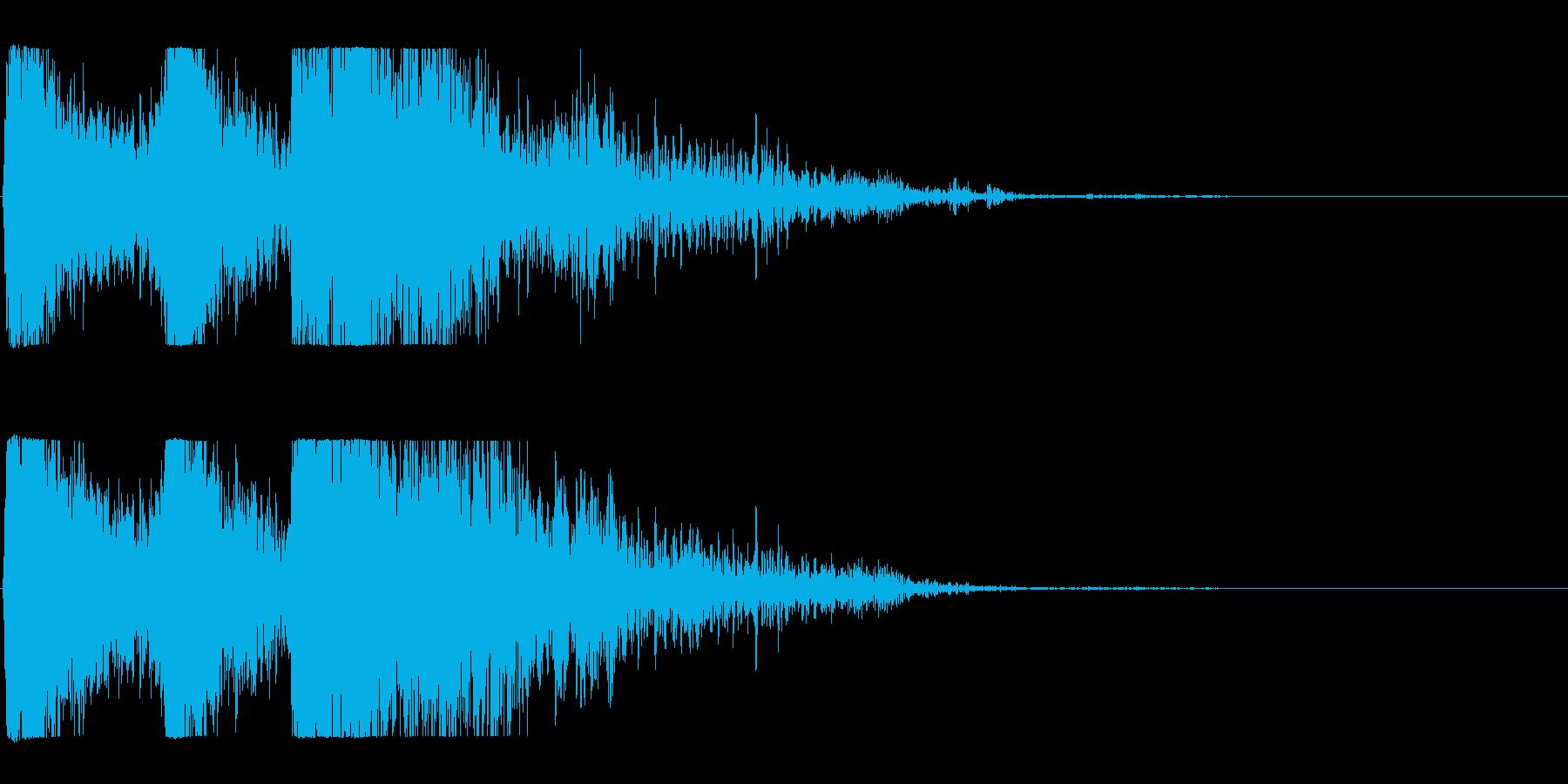 爆発;複数04の再生済みの波形