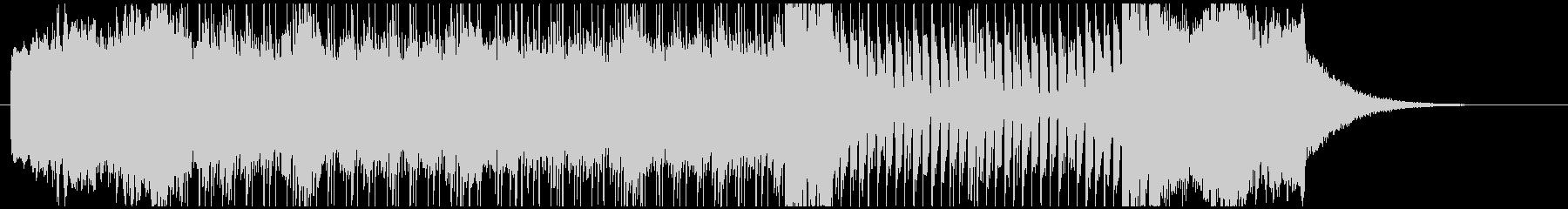 ハモンドオルガンを用いた変則的なプログレの未再生の波形