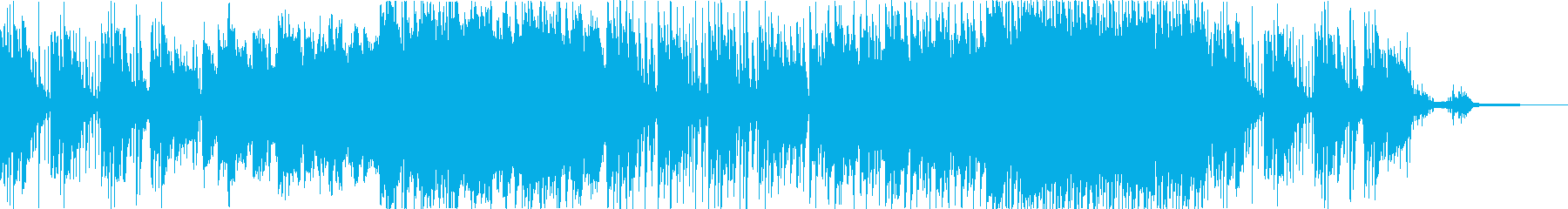 壮大な自然のポップスの再生済みの波形