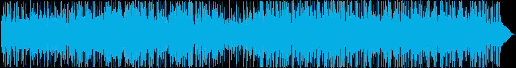 ラテンパーカッション、ストリングス...の再生済みの波形