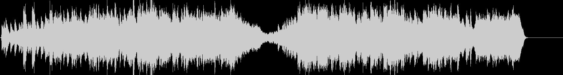 バロック風 上品なクラシックの未再生の波形