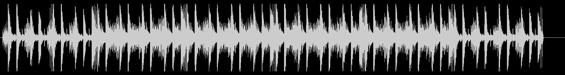 オーガニックアジアンヒーリングBGMの未再生の波形