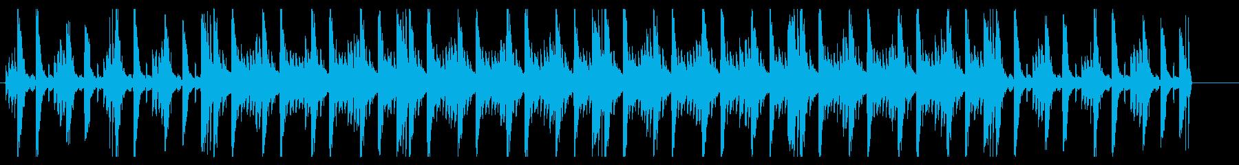 オーガニックアジアンヒーリングBGMの再生済みの波形