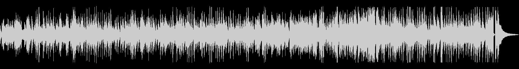 ゆっくりめのジャズ風ラウンジピアノの未再生の波形