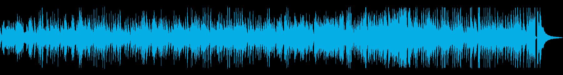 ゆっくりめのジャズ風ラウンジピアノの再生済みの波形
