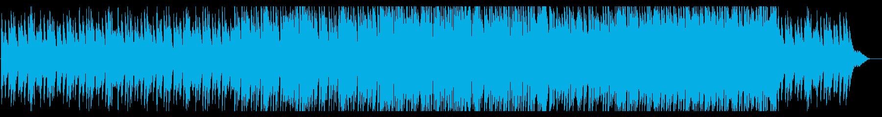 センチメンタルなピアノのBGMの再生済みの波形