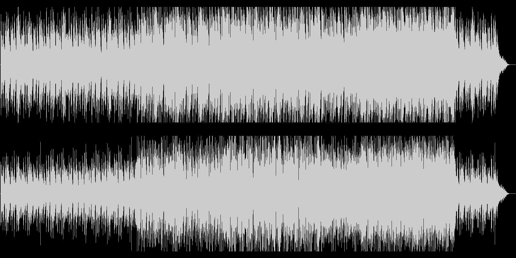 センチメンタルなピアノのBGMの未再生の波形