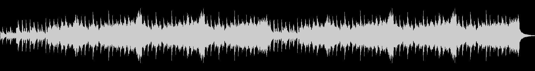 ピチカートオーボエクラリネットの優しい音の未再生の波形