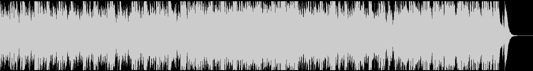 スローなベルとストリングスのファンタジーの未再生の波形