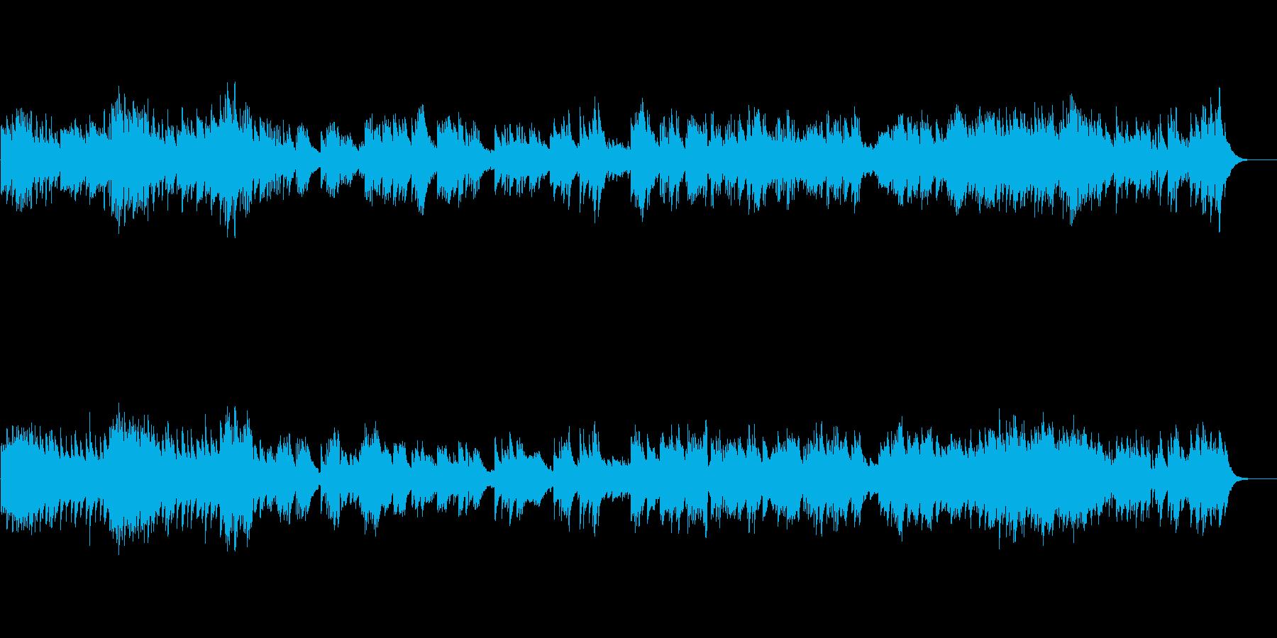 【オルゴール】アップテンポの歌もの風の再生済みの波形