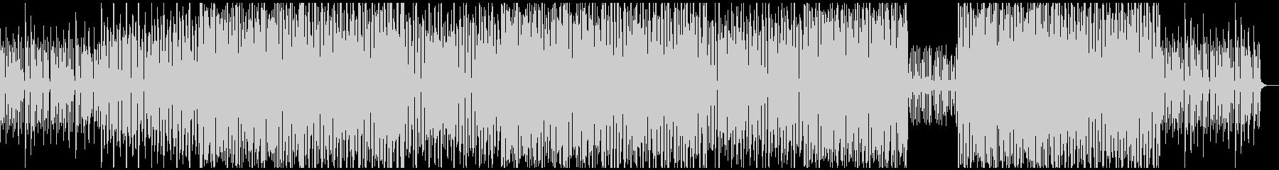オシャレなBGMの未再生の波形