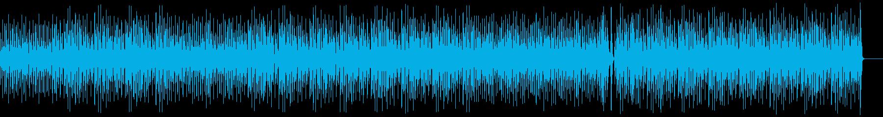 ほのぼの/軽快/ウクレレ/リコーダーの再生済みの波形
