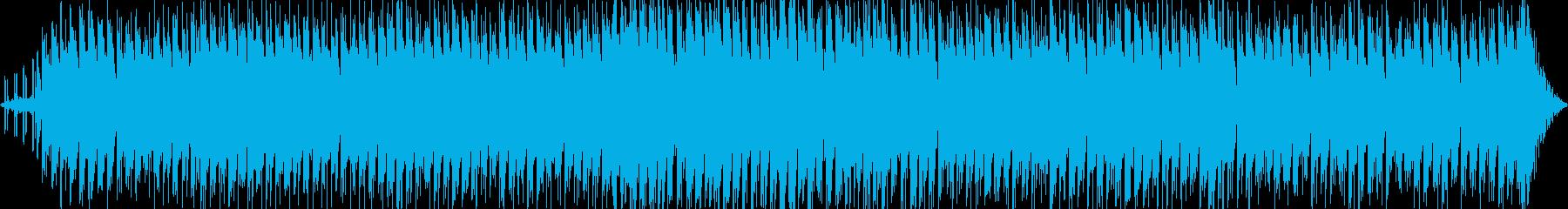 かわいい感じのエレクトロポップスの再生済みの波形