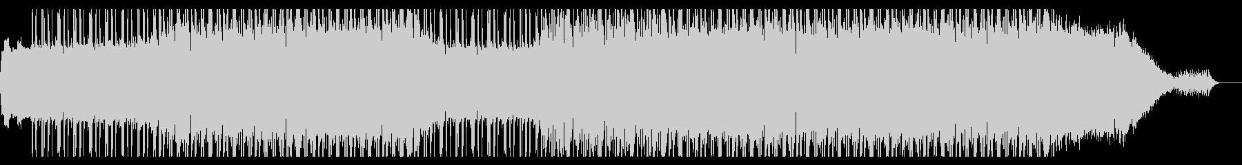 キラキラと輝くドラムンベースの未再生の波形
