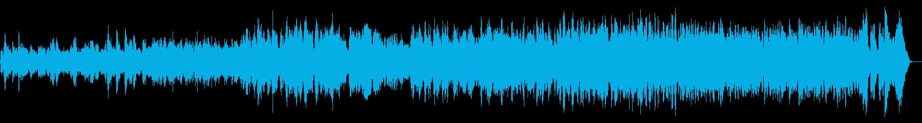きらびやかでどこか怪しいワルツの再生済みの波形
