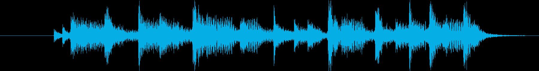 AOR系のショート・ジングルの再生済みの波形