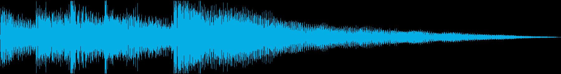 アコースティックギター、ピアノ、ソ...の再生済みの波形