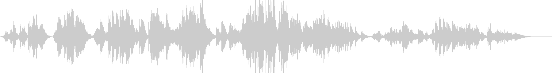 【生演奏】亜麻色の髪の乙女(ハープ伴奏)の未再生の波形
