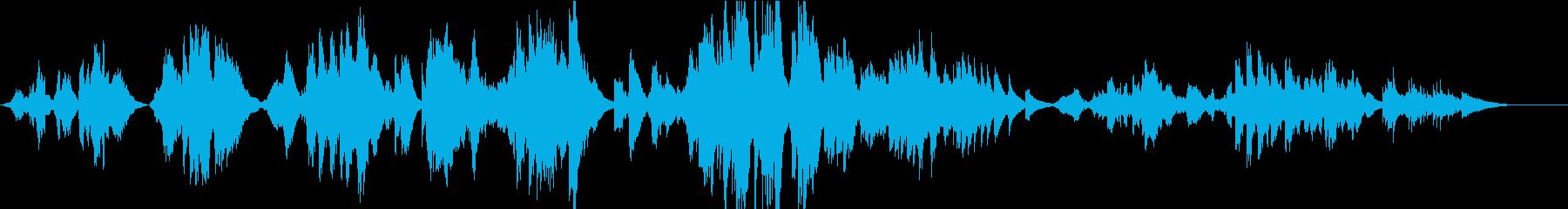 【生演奏】亜麻色の髪の乙女(ハープ伴奏)の再生済みの波形