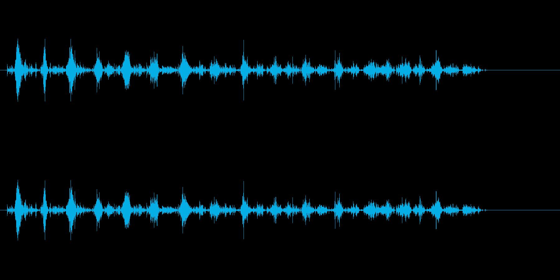 小チェーンムーブメントの再生済みの波形