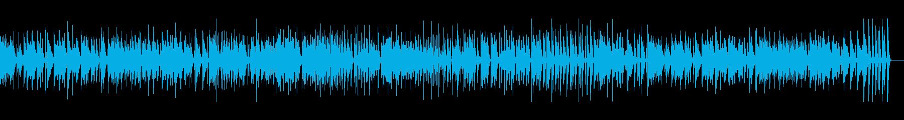 おしゃれでスタイリッシュなボサノバです。の再生済みの波形