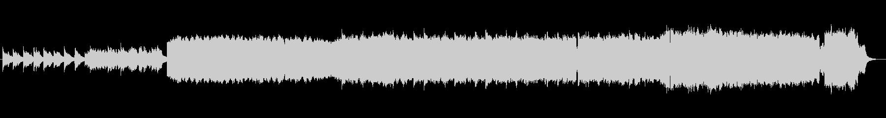 中世ルネサンス調古楽器のオリジナル曲の未再生の波形