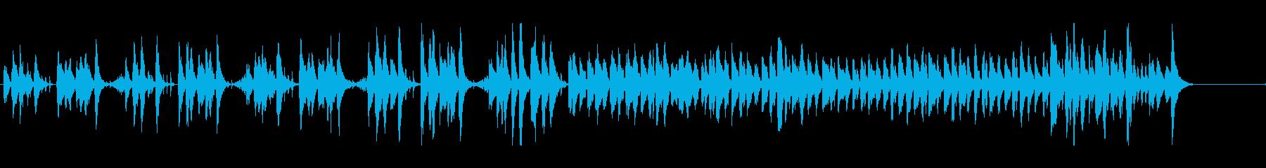 少しマヌケなほのぼの日常シーンBGMの再生済みの波形