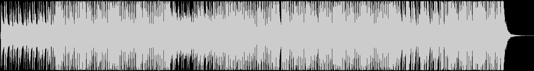 ゆったりふわふわしたFuturePopの未再生の波形