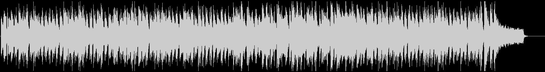 ズンズン歩くようなコミカルなリコーダー曲の未再生の波形