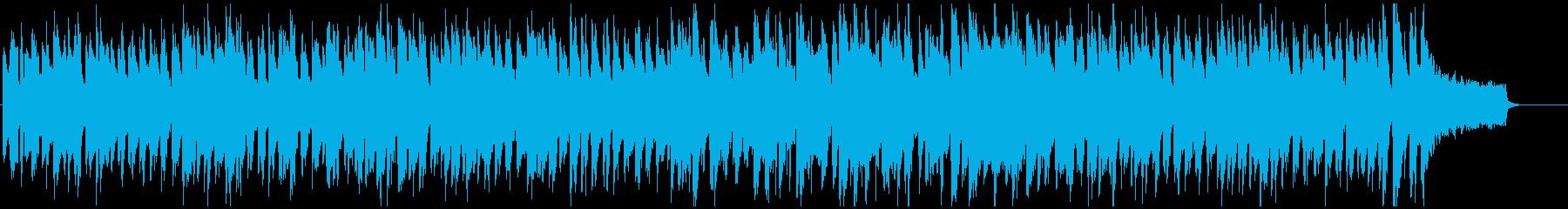 ズンズン歩くようなコミカルなリコーダー曲の再生済みの波形