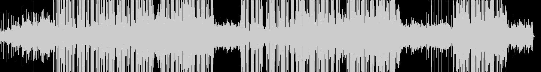 切なさと力強さがあるピアノヒップホップの未再生の波形