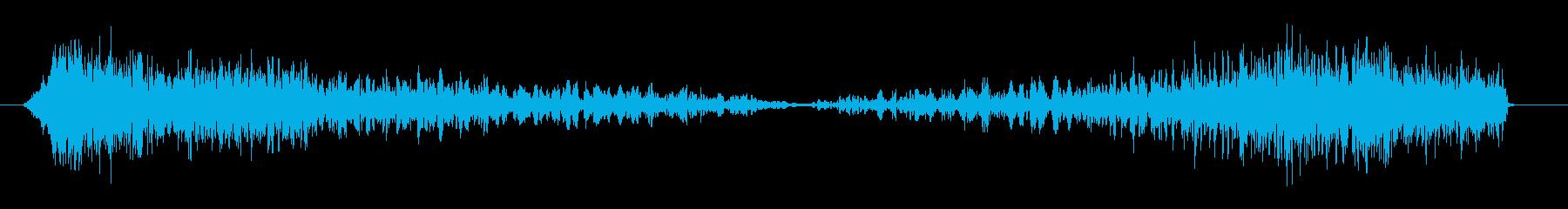 衝撃電気モーフは、ヒューシューを歪...の再生済みの波形